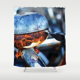 Bicycle bell  Shower Curtain