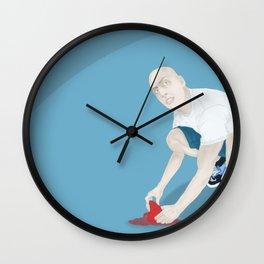 Los corazones no se maltratan/ Hearts not mistreat Wall Clock