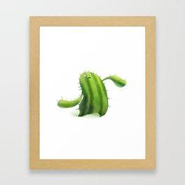Cactoid Framed Art Print