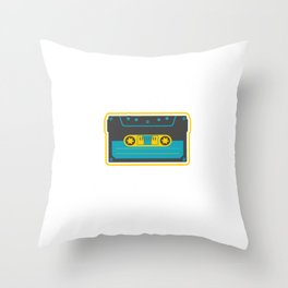 It's Dangerous Cassette Tapes Player Classic Mag Tape Magnetic Tape Gift Throw Pillow