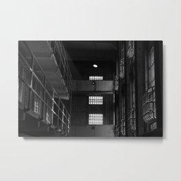 Alcatraz Penitentiary  Metal Print
