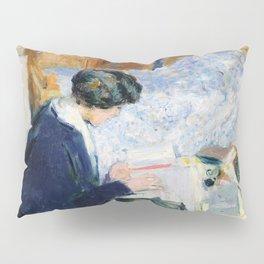Edouard Vuillard - Lucy Hessel lisant - Digital Remastered Edition Pillow Sham