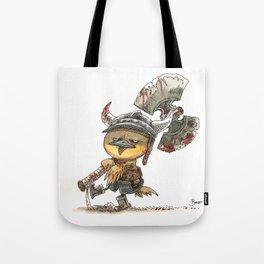 Poussin Barbare Tote Bag