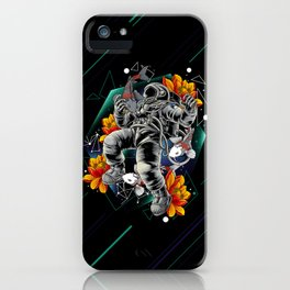 Lucky Spaceman iPhone Case