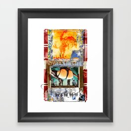 SWEETHEART OF THE RODEO #3 Framed Art Print