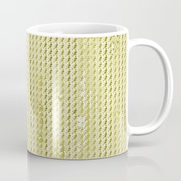 Wash Out Faux Burlap- Wheat Coffee Mug