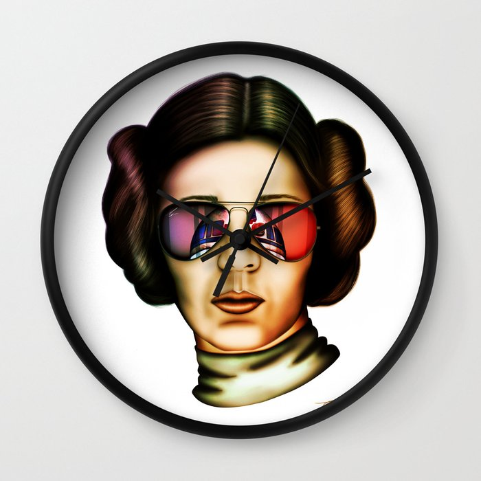 STAR WARS Princess Leia Wall Clock by tombrodiebrowne | Society6