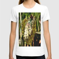 succulent T-shirts featuring Nature Succulent by  Agostino Lo Coco