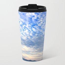 Clouds Dispensing Metal Travel Mug