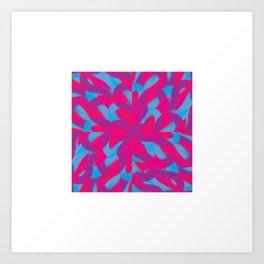 VibrantBrush1 Art Print