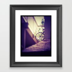 Point of Intersection  Framed Art Print