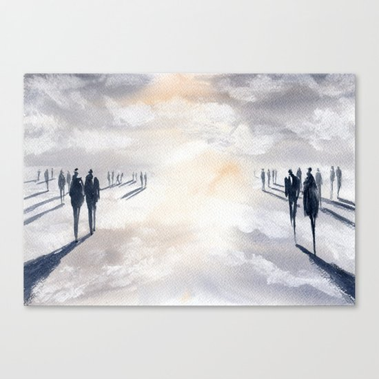 Not Untitled Canvas Print