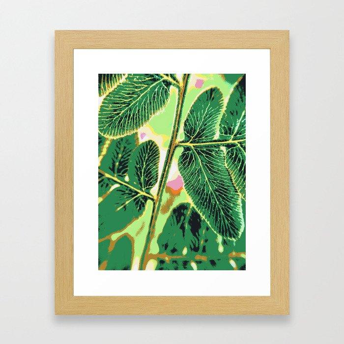 party fern Framed Art Print