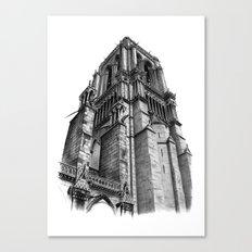 Notredame Paris Canvas Print