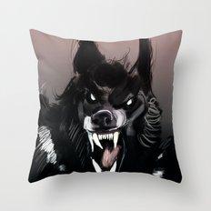 The Werewolf Throw Pillow