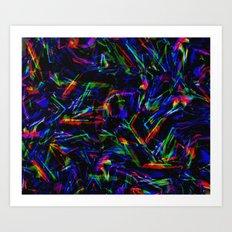 C13D DISTRESSED PATTERN Art Print