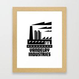 Vandelay Industries Framed Art Print