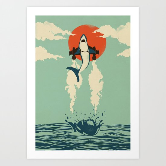 Up From the Deep Art Print