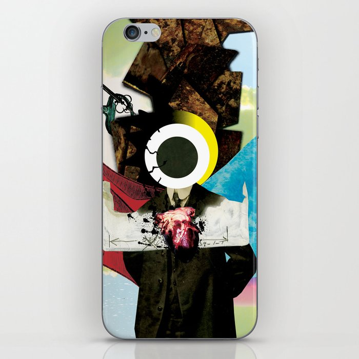 The Pursuit of Salvation iPhone Skin