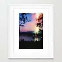 camp Framed Art Prints featuring camp by Michael Jack