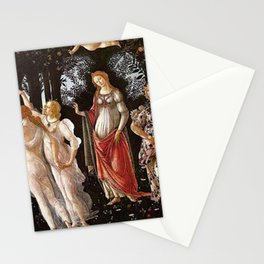 Primavera Painting by Sandro Botticelli Stationery Cards