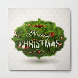 Christmas Tree Metal Print