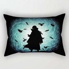 Itachi Uchiha Silhouette Rectangular Pillow
