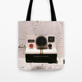 OneStep Land Camera, 1977 Tote Bag