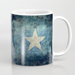 Somalia national flag (officially the Federal Republic of Somalia) Vintage version to scale Coffee Mug