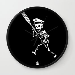 Miss Peregrine skeleton 3 Wall Clock