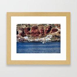 Santorini 23 Framed Art Print
