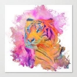 Painterly Animal - Tiger 1 Canvas Print