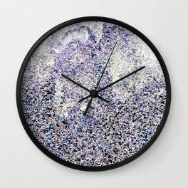 Glitter Abstract I Wall Clock