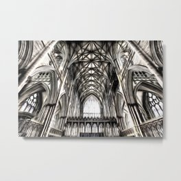 York Minster Art Metal Print