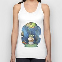 over the garden wall Tank Tops featuring Over the Garden Wall by zaMp