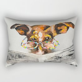 DOG'S NEWS Rectangular Pillow