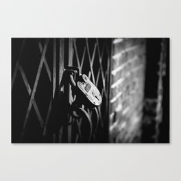 Locked Away Canvas Print