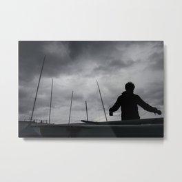 North Berwick Yacht Club | East Lothian, Scotland Metal Print