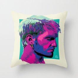 Layne Staley Throw Pillow