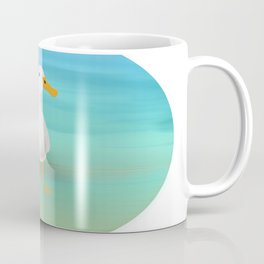 The Paddling Duck at the Se Coffee Mug