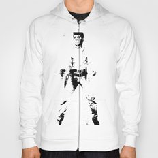 FPJ black and white Hoody