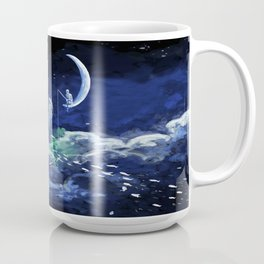 The Doctor Dreaming Of Fishing Coffee Mug