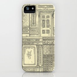 Architectural Elements iPhone Case