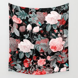 Botanic Floral Wall Tapestry