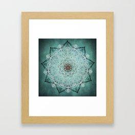 Mystic Mandala Framed Art Print
