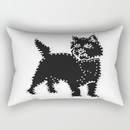 I have Connected the CAIRN TERRIER Doggy Dots! Rectangular Pillow