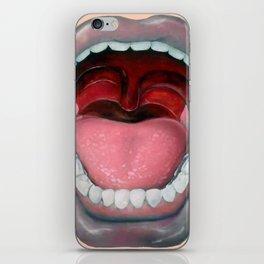 Say AAAH!! iPhone Skin