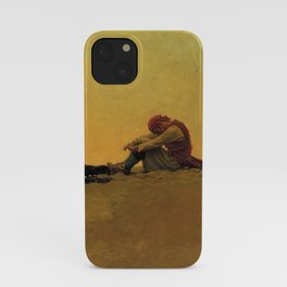 """""""Marooned"""" Pirate Art by Howard Pyle iPhone Case"""