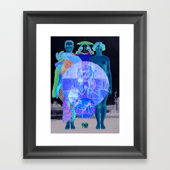 In Your World Of Two Framed Art Print
