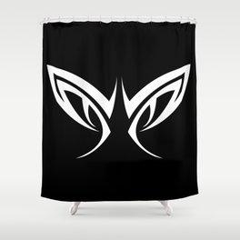 Tribal Eyes Tattoo Shower Curtain